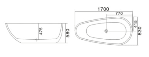Bồn tắm TDO T-5026