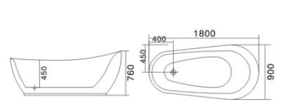 Bồn tắm TDO T-5039