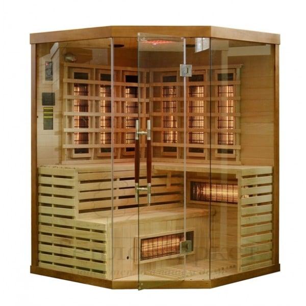 Phòng xông khô có 2 loại là dùng đa hoặc tia hồng ngoại