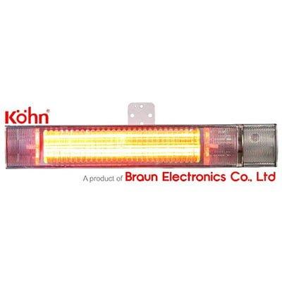 Đèn sưởi nhà tắm Braun Kohn K150 hồng ngoại