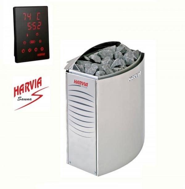 Máy xông hơi sauna hoạt động nhờ vào sự tỏa nhiệt của đá sauna