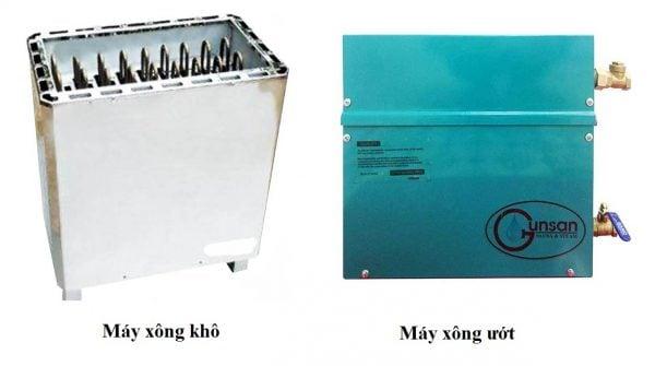 Lắp đặt đường ống của máy xông hơi có thể lắp nổi hoặc âm vào tường
