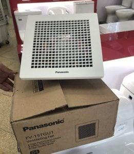 Quạt hút thông gió Panasonic FV-15TGU1 âm trần (lỗ chờ 21.7cm)