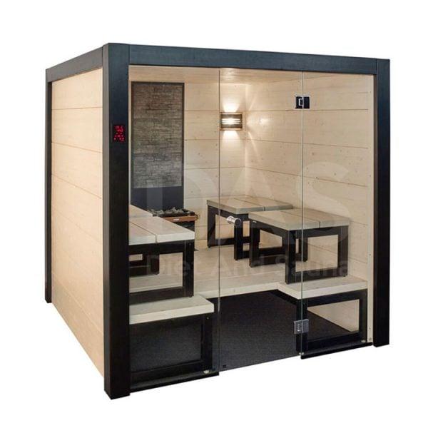 Phụ kiện trang trí cho phòng xông hơi phụ thuộc vào mẫu phòng xông ướt hay khô