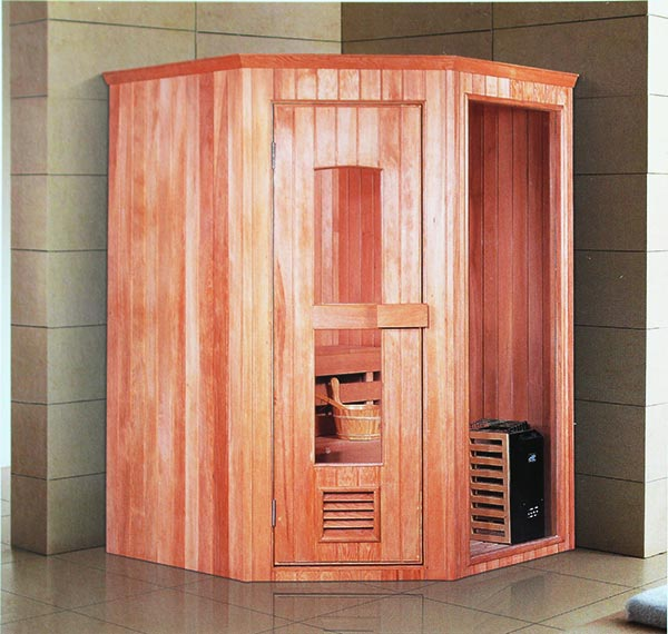 Phòng xông hơi mang lại sự sang trọng và hiện đại cho không gian nhà tắm của gia đình bạn