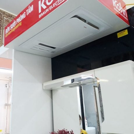 Máy sưởi phòng tắm âm trần Braun Kohn PT02G