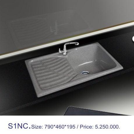 Chậu rửa bát Việt Mỹ S1NC đá nhân tạo
