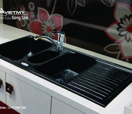 Chậu rửa bát Việt Mỹ S3NC đá nhân tạo