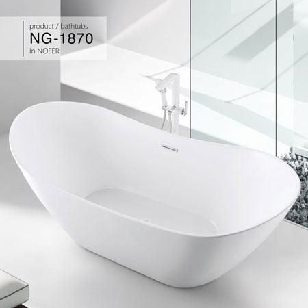 Bồn tắm Nofer NG-1870/ 1870 PLUS