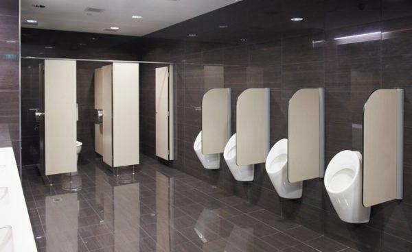 Cần lựa chọn bồn tiểu có kích thước phù hợp với không gian
