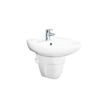 Chậu rửa lavabo Viglacera BS409 và chân BS502