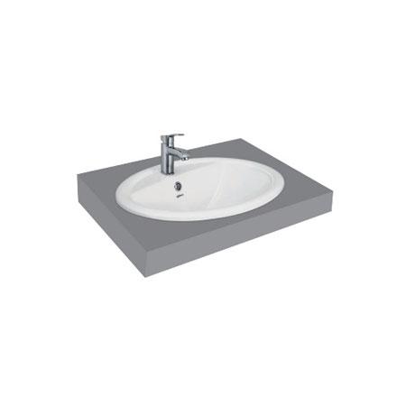 Chậu rửa lavabo Viglacera CD1 đặt dương bàn