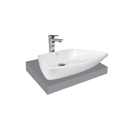 Chậu rửa lavabo Viglacera CD17 trên bàn