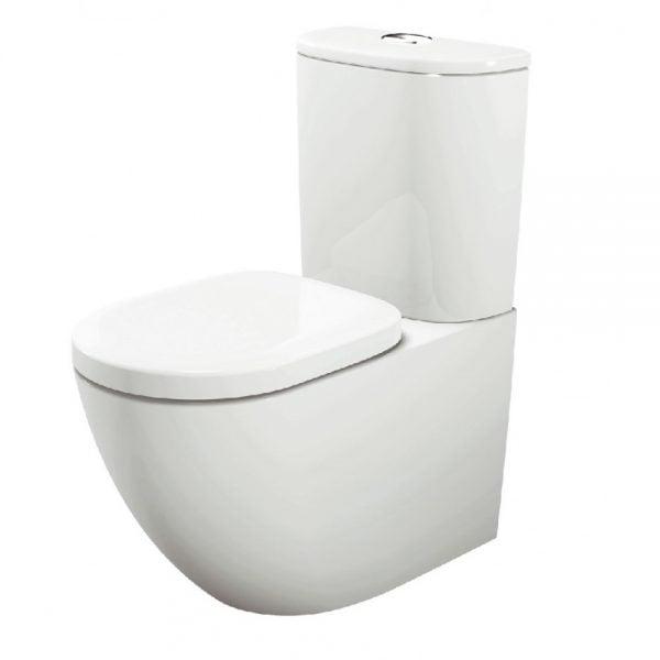 Bồn cầu hai khối mang đến nhiều tiện nghi trong phòng tắm