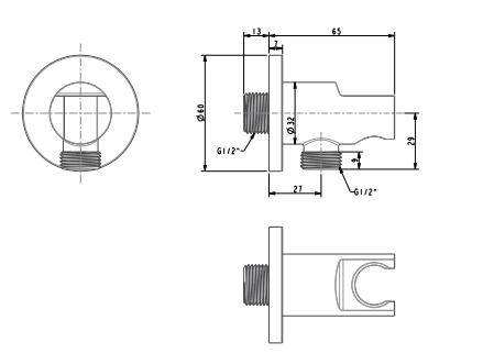 Co nối vuông American FFAS9141