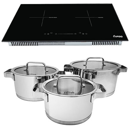 Bếp từ đôi Rapido RI4000VS siêu khuyến mại
