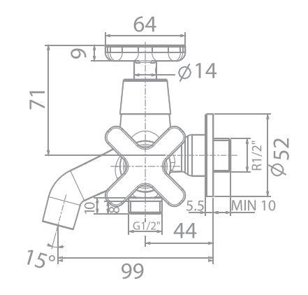 Vòi tắm sen American WF-T703