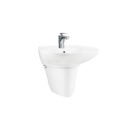 Chậu rửa lavabo kèm chân Viglacera V39