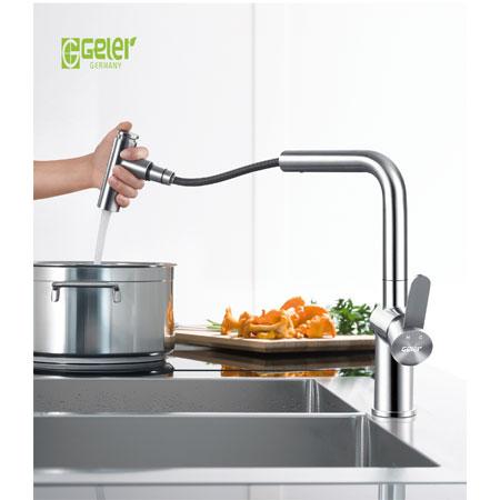 Vòi rửa bát Geler GL 3065 nóng lạnh