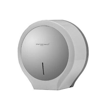 Hộp đựng giấy vệ sinh Interhasa HSD-E1008( màu trắng, ghi)