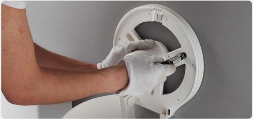 Hộp đựng giấy vệ sinh cuộn lớn Miken MKG-E1008B