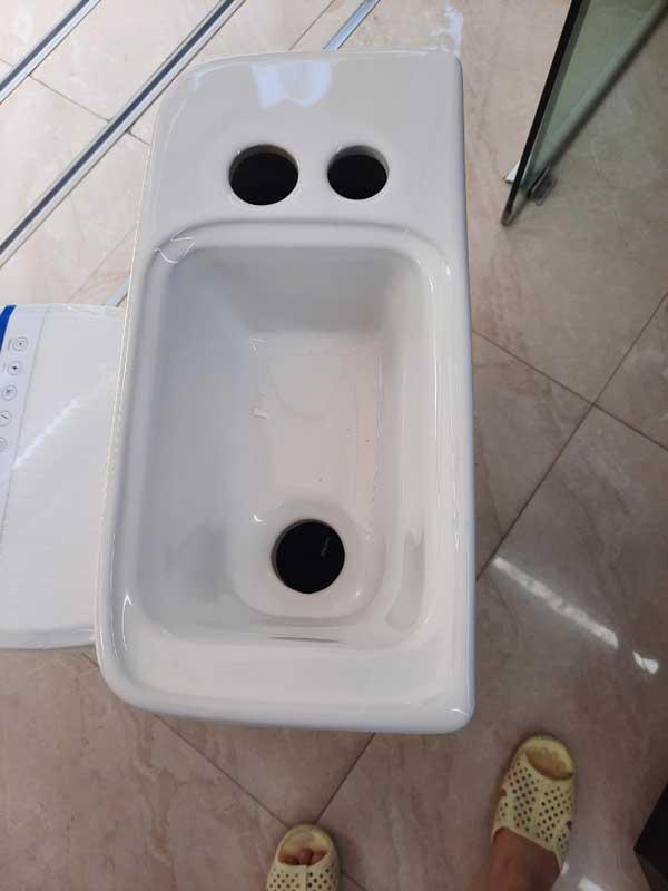 Bồn cầu liền chậu rửa mặt(bệt liền chậu rửa mặt, bồn cầu  liền chậu)NP02