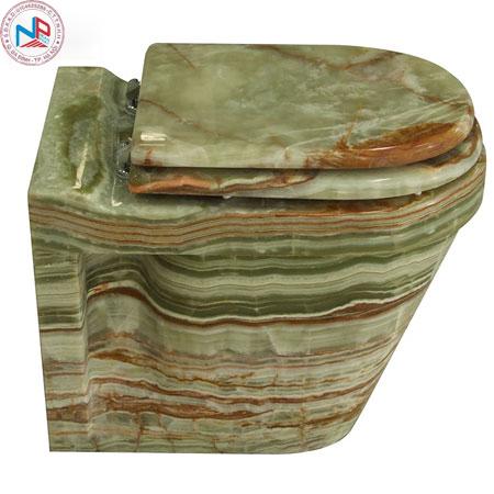 Bồn cầu NP ST-A004-GO đá cẩm thạch