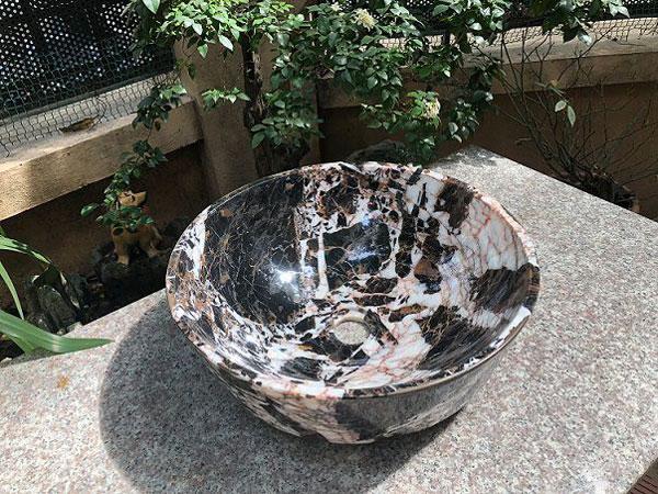 Chậu rửa lavabo Eximstone BST31 đá tự nhiên