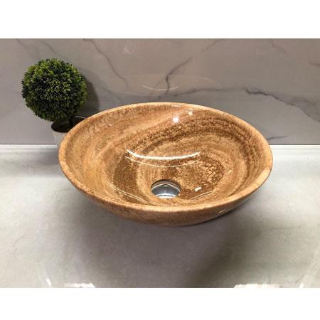 Chậu rửa lavabo Eximstone BST35 đá tự nhiên