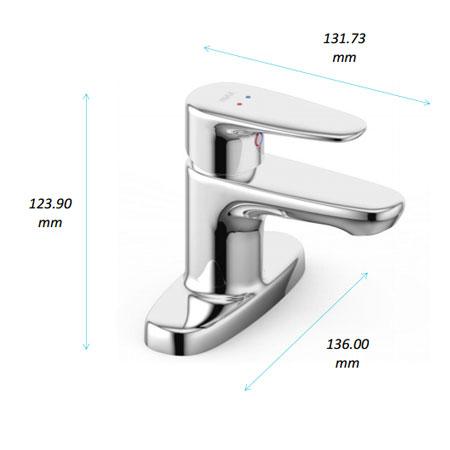 Vòi rửa lavabo 3 lỗ Inax  LFV-1111S