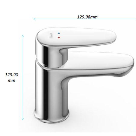 Vòi rửa lavabo 1 lỗ Inax  LFV-1112S