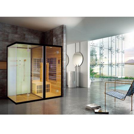 Phòng xông hơi khô và ướt Nofer SN-801