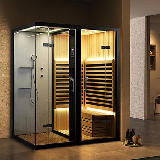 Phòng xông hơi khô và ướt Nofer SN-99100R