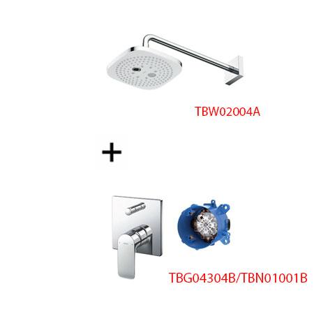 Sen tắm âm tường ToTo TBG04304B kèm bát sen TBW02004A