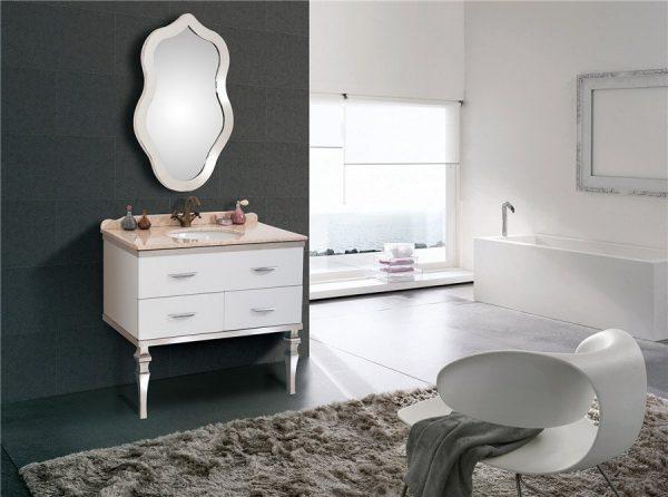 Thiết bị gọn gàng, thiết kế hiện đại được người tiêu dùng quan tâm với tủ chậu