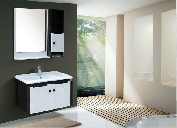 Nhựa PVC là chất liệu xanh được ứng dụng nhiều trong thiết kế các thiết bị vệ sinh, nội thất