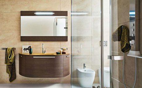 Cách lựa chọn chậu rửa mặt có tủ phù hợp với  không gian phòng tắm