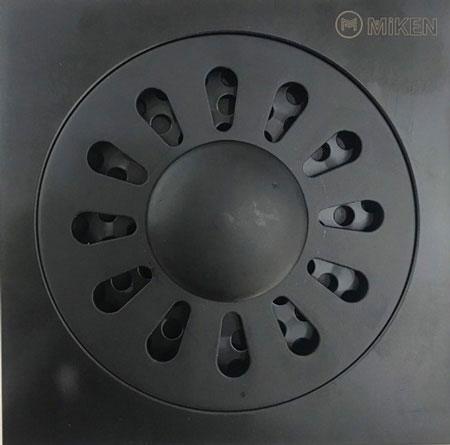 Ga thoát sàn màu đen Miken MK-1010B (Phi 48,60,76,90)