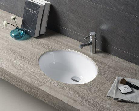 Top 3 chậu rửa mặt liền tủ nhà tắm âm bàn đang được ưa chuộng hiện nay