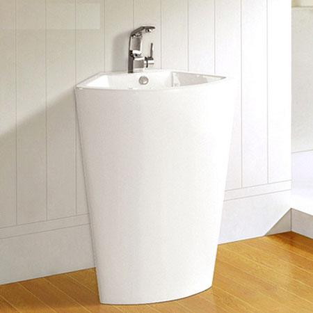 Chậu rửa mặt lavabo nghệ thuật chân đứng JNH-007