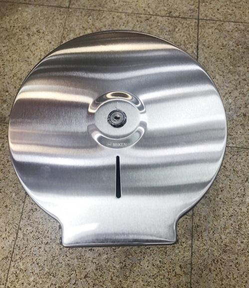 Hộp đựng giấy vệ sinh cuộn lớn Miken MK-1103M inox 304