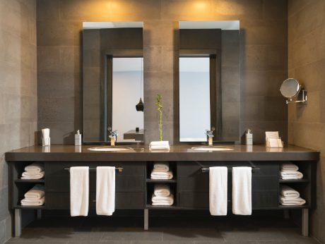 Bộ tủ chậu gương vòi Duravit – giải pháp cho không gian phòng tắm của bạn