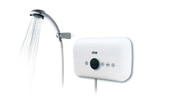 Bình nóng lạnh trực tiếp Ferroli Rita FS-4.5 DE (chống giật)