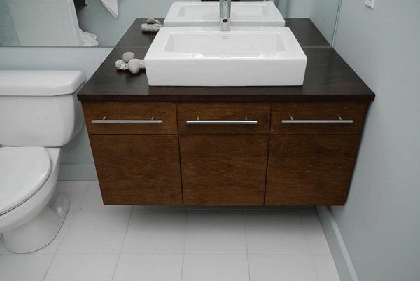 Tủ và chậu rửa lavabo thiết kế tinh tế và đa dạng với nhiều chất liệu khác nhau