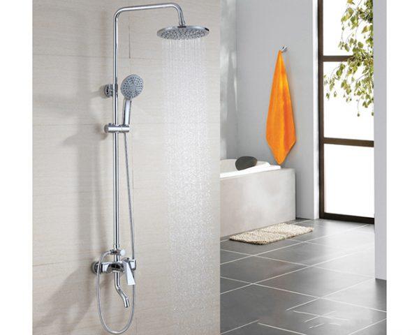 Sen cây tắm âm tường là sản phẩm được thiết kế với các bộ phận được tách rời nhau