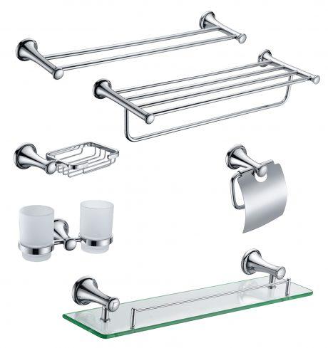 Cách lựa chọn phụ kiện phòng tắm inox phù hợp với không gian