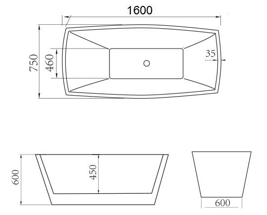 Bồn tắm nghệ thuật Govern JS-6102 new