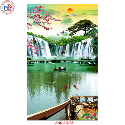 Gạch tranh đứng Anh Khang ANK-AD138