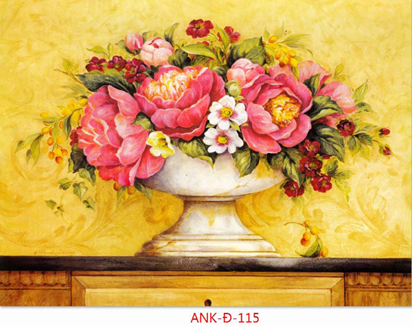 Gạch tranh bình hoa Anh Khang ANK-Đ-115