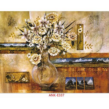Gạch tranh bình hoa Anh Khang ANK-E337